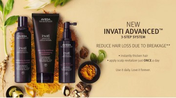 Thicker, Fuller Looking Hair with New Aveda Invati Advanced™ System