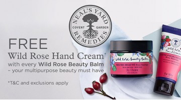 Free Neals Yard Remedies Wild Rose Hand Cream