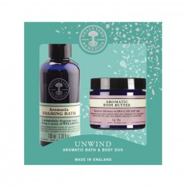 Neal's Yard Remedies Unwind - Aromatic Bath & Body Duo