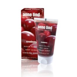 Annemarie Borlind Anne Lind Body Scrub Cranberry
