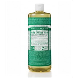 Dr Bronner's Org Almond Cast Liquid Soap 946ml