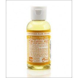 Dr Bronner's Org Citrus Cast Liquid Soap 59ml