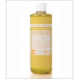 Dr Bronner's Org Citrus Cast Liquid Soap 473ml