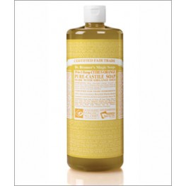 Dr Bronner's Org Citrus Cast Liquid Soap 946ml