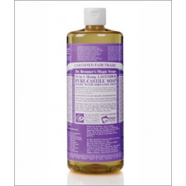 Dr Bronner's Org Lavender Cast Liquid Soap 946ml