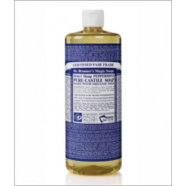 Dr Bronner's Org Peppermint Cast Liquid Soap 946ml