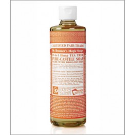 Dr Bronner's Org Tea Tree Cast Liquid Soap 946ml