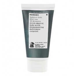 Korres Mint Tea Body Scrub 150ml