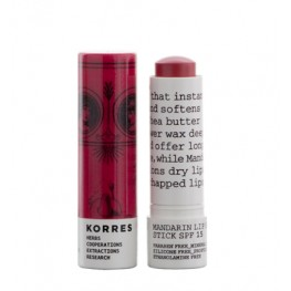 Korres Mandarin Lip Butter Stick SPF15 Rose