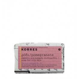 Korres Pomegranate Facial Soap Oily Skin 125g