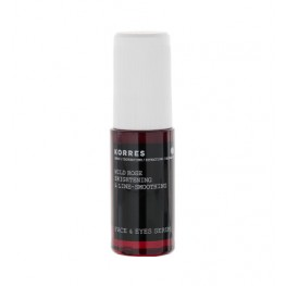 Korres Wild Rose Brightening Line-Smoothing Face and Eye Serum 30ml