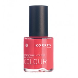 Korres Nail Colour Coral Pink 43