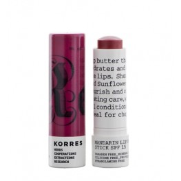 Korres Mandarin Lip Butter Stick SPF15 Purple