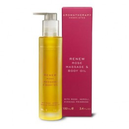 Aromatherapy Associates Renew Rose Massage & Body Oil 100ml