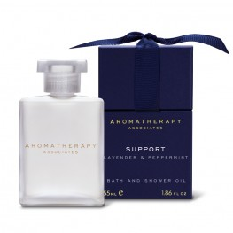Aromatherapy Associates Support Lavender & Peppermint Bath & Shower Oil 55ml