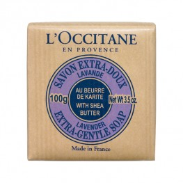 L'Occitane Lavender Shea Butter Extra Gentle Soap 100g