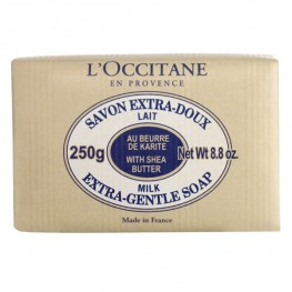 L'Occitane Milk Shea Butter Extra Gentle Soap 250g
