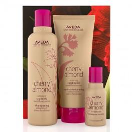 Aveda Cherry Almond Hair & Body Softening Trio