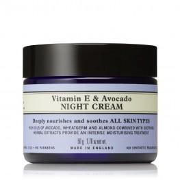 Neal's Yard Remedies Vitamin E & Avocado Night Cream 50g