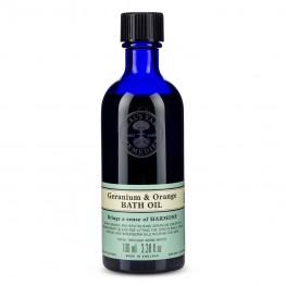 Neal's Yard Remedies Geranium & Orange Bath Oil 100ml