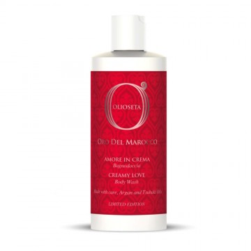 Olioseta Oro Del Marocco Creamy Love Body Wash 250ml