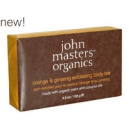 John Masters Organics Orange & Ginseng Exfoliating Bar