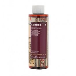 Korres Vanilla, Freesia and Lychee Shower Gel 250ml