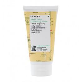 Korres Basil Lemon Body Scrub 150ml