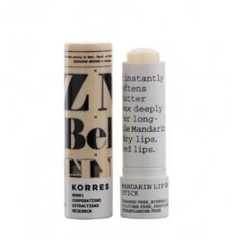Korres Mandarin Lip Butter Stick Colourless SPF15