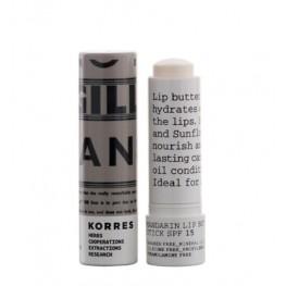 Korres Mandarin Lip Butter Stick Colourless without SPF
