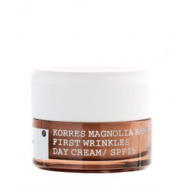 Korres Magnolia Bark Prevention And First Signs Of Ageing Day Cream SPF 15 40ml