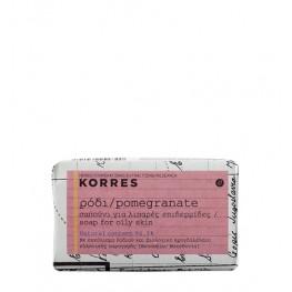 Korres Pomegranate Facial Soap Oily Skin 125g