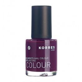 Korres Nail Colour Purple 27