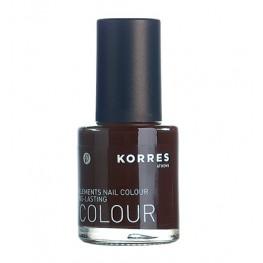 Korres Nail Colour Dark Brown 69