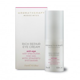 Aromatherapy Associates Rich Repair Eye Cream 15ml (Renew Rose Overnight Repair Eye Cream)