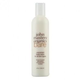 John Masters Organics Bare Unscented Body Lotion 236ml